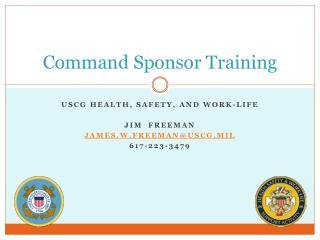 Command Sponsor Training