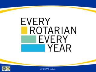 2011 RRFC Institute