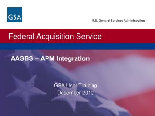 AASBS – APM Integration