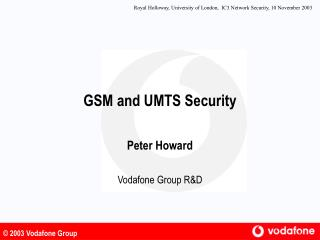 GSM and UMTS Security