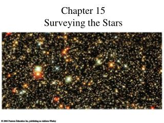 Chapter 15 Surveying the Stars