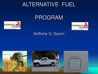 GEORGIA POWER COMPANY'S ALTERNATIVE  FUEL PROGRAM Anthony G. Saxon