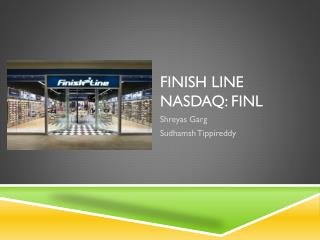 Finish Line  Nasdaq: FINL