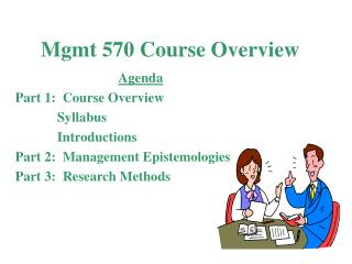 Mgmt 570 Course Overview