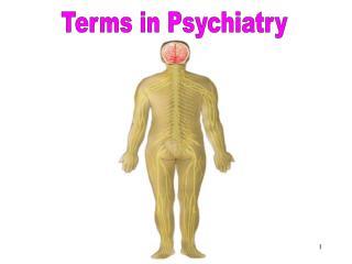Terms in Psychiatry