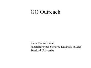 GO Outreach