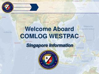 Welcome Aboard COMLOG WESTPAC