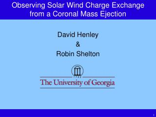 Observing Solar Wind Charge Exchange from a Coronal Mass Ejection