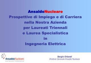 Il Nuovo Nucleare: Prospettive per le attività di Ricerca e Sviluppo