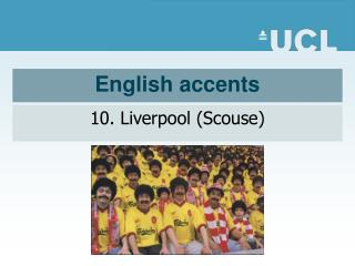 English accents