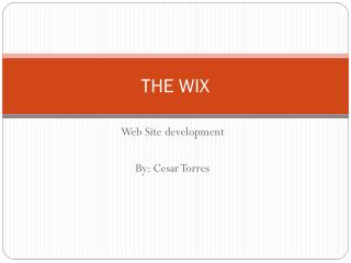 THE WIX