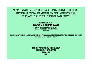 1.  UU No. 17 Tahun 2003  tentang  Keuangan  Negara