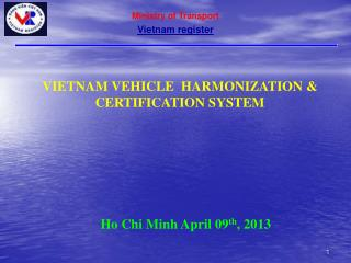 Ministry of Transport Vietnam register