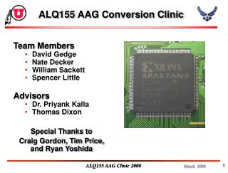 ALQ155 AAG Conversion Clinic