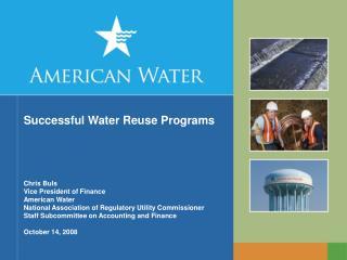 Successful Water Reuse Programs
