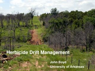 Herbicide Drift Management