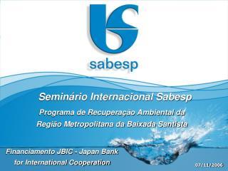 Programa de Recuperação Ambiental da Região Metropolitana da Baixada Santista