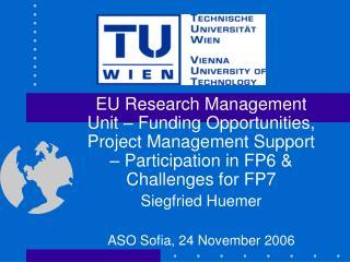 Vienna University of Technology TU Wien (TUW)