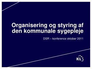 Organisering og styring af den kommunale sygepleje