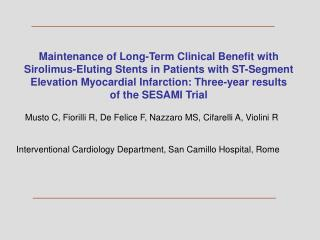 Maintenance of Long-Term Clinical Benefit with