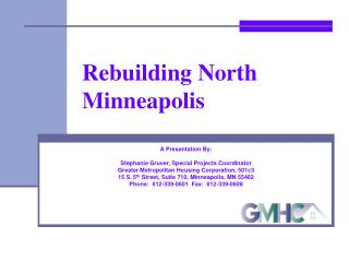 Rebuilding North Minneapolis
