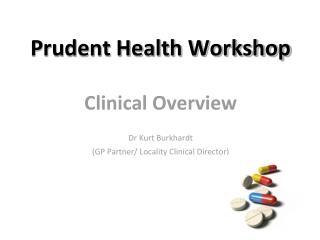 Prudent Health Workshop