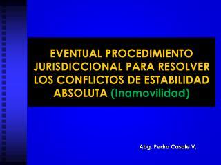 Abg. Pedro Casale V.