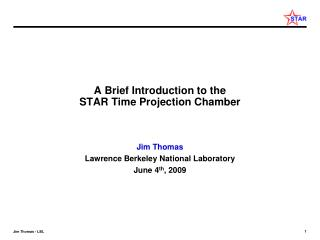 A Brief Introduction to the  STAR Time Projection Chamber