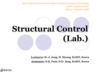 Structural Control (Lab.)