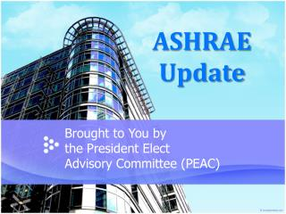 ASHRAE Update