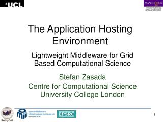 The Application Hosting Environment