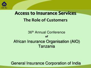 36th Annual Conference of African Insurance Organisation AIO Tanzania