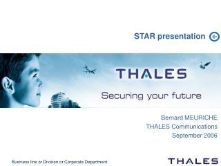STAR presentation