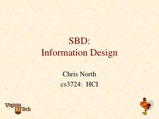 SBD: Information Design