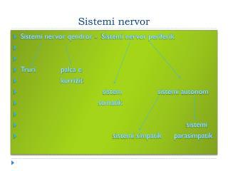 Sistemi nervor