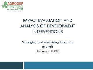 Ruth Vargas Hill, IFPRI