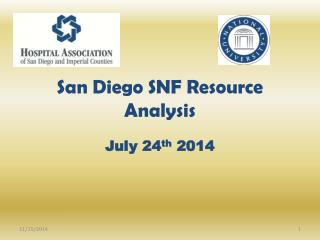 San Diego SNF Resource Analysis