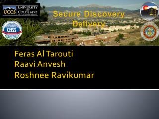 Feras  Al  Tarouti Raavi Anvesh Roshnee  Ravikumar