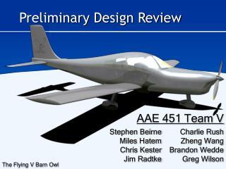 AAE 451 Team V