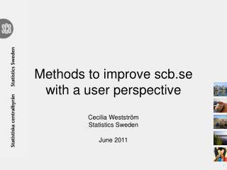 Methods  for  user  feedback