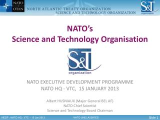 NATO ' s Science and Technology Organisation