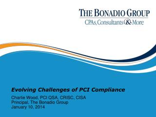 Evolving Challenges of PCI Compliance