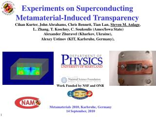 Experiments on Superconducting  Metamaterial-Induced Transparency