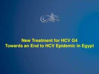 New Treatment for HCV G4 Towards an End to HCV Epidemic in Egypt
