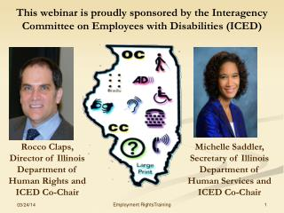 Michelle Saddler, Secretary of Illinois Department of Human Services and ICED Co-Chair