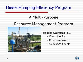 Diesel Pumping Efficiency Program