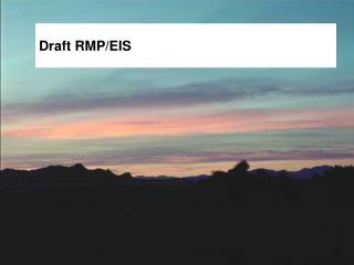 Draft RMP/EIS
