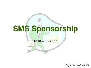 SMS Sponsorship