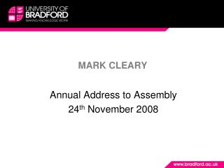 MARK CLEARY