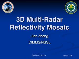 3D Multi-Radar Reflectivity Mosaic